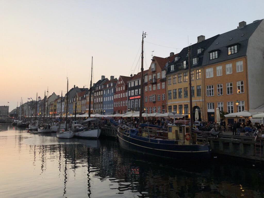 Sunset in Denmark