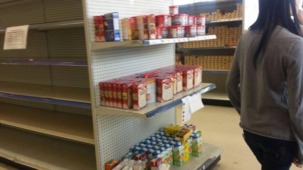 Food donations