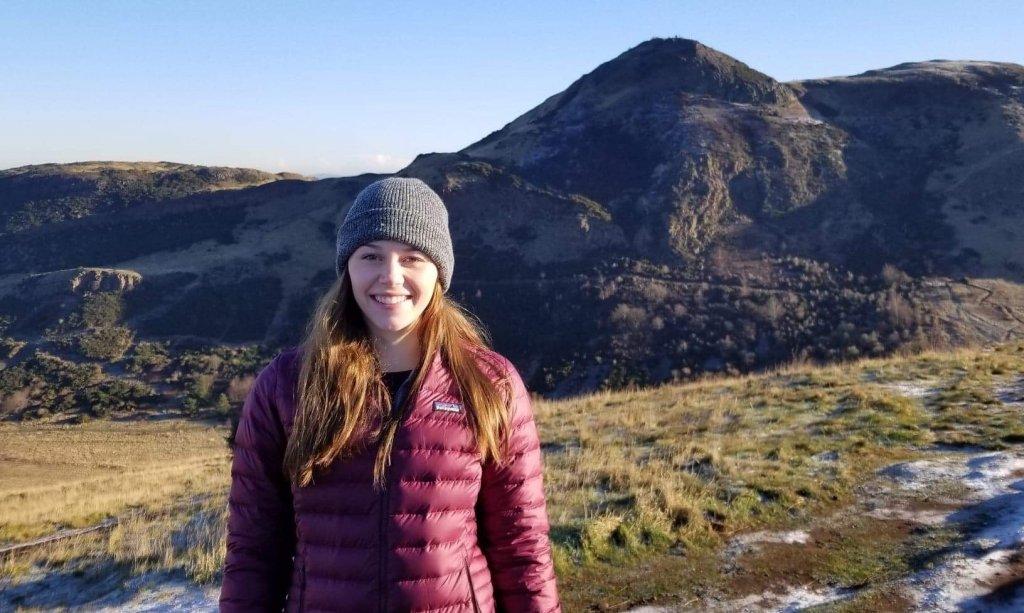 Sarah in Scotland