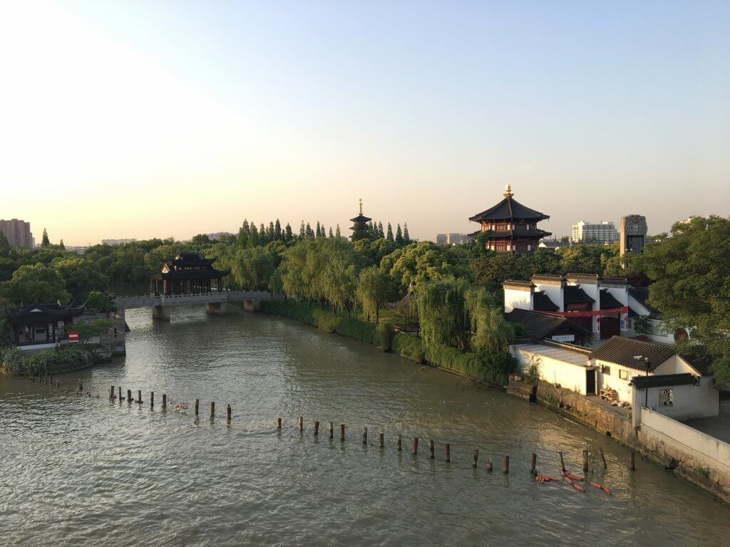 Body of water in China