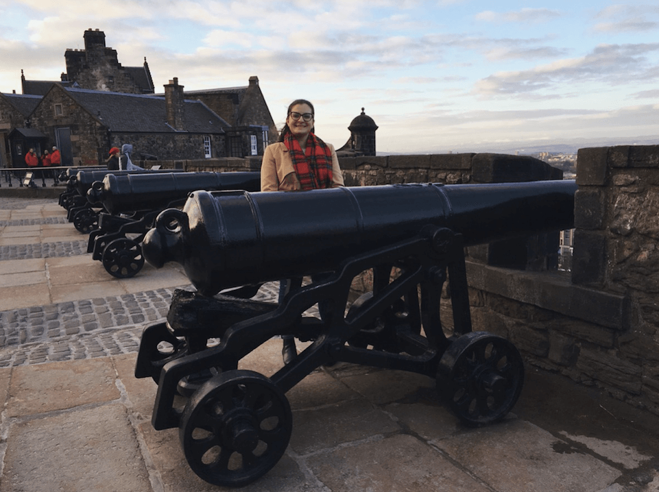 Julia with a canon
