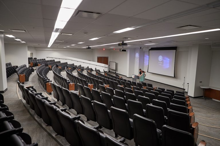 McMaster lecture room