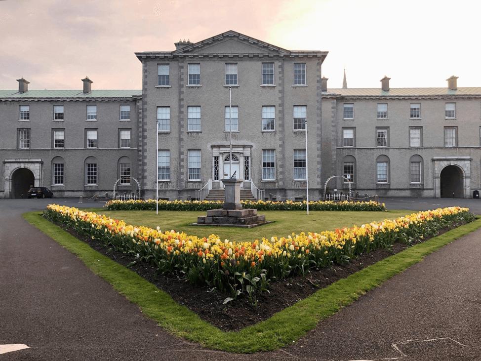 Ireland at sunset