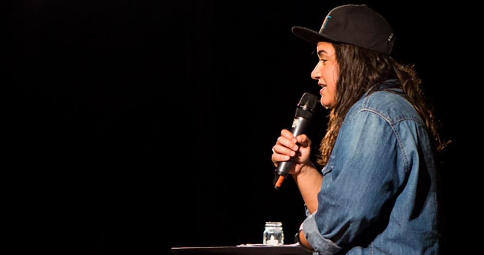 Sabrina Jalees at Last Lecture