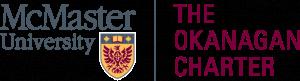 McMaster Okanagan Charter logo