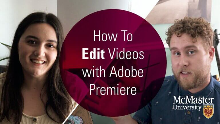 How to Edit Videos with Adobe Premiere.