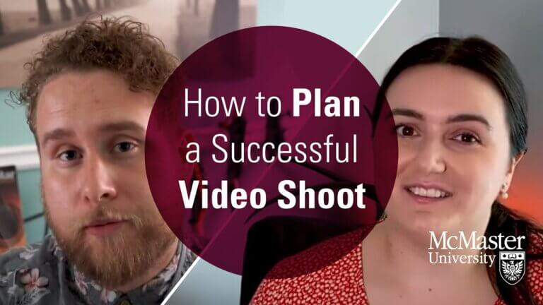 How to Plan a Successful Video Shoot.